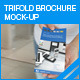 Trifold brochure mock-up - GraphicRiver Item for Sale