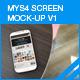 MyS4 screen mock-ups v1 - GraphicRiver Item for Sale