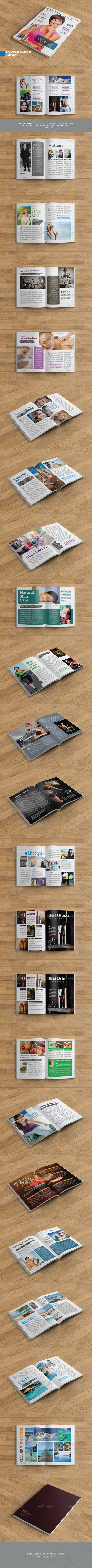 GraphicRiver A4 Showmagz Magazine Template 6412909