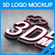 5 3D Photorealistic Logo Mock-up - GraphicRiver Item for Sale