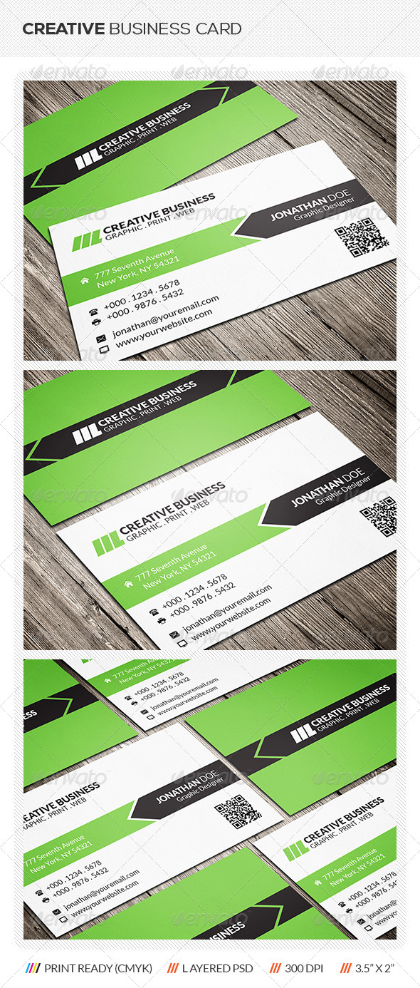 GraphicRiver Creative Corporate Business Card 6413136