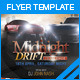 MIDNIGHT DRIFT FLYER - GraphicRiver Item for Sale