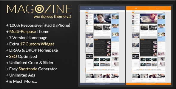 Magazine - Wp Magazine Theme - Blog / Magazine WordPress