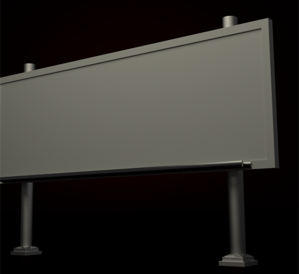 Billboard - 3DOcean Item for Sale