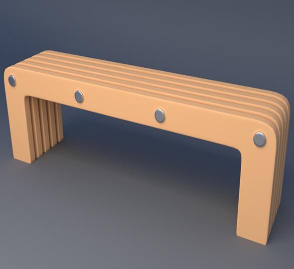 3DOcean Bench 6414058