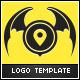 Bat Label Logo  - GraphicRiver Item for Sale