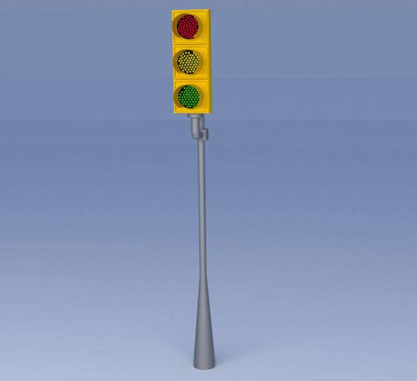 3DOcean Traffic Light 6414251
