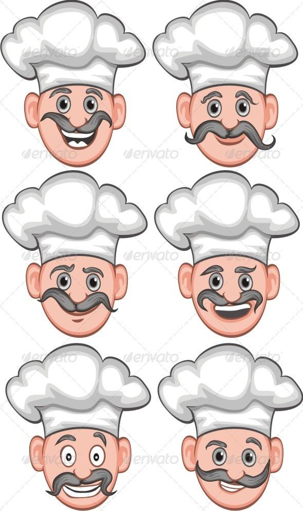 GraphicRiver Chef Expression 6414793