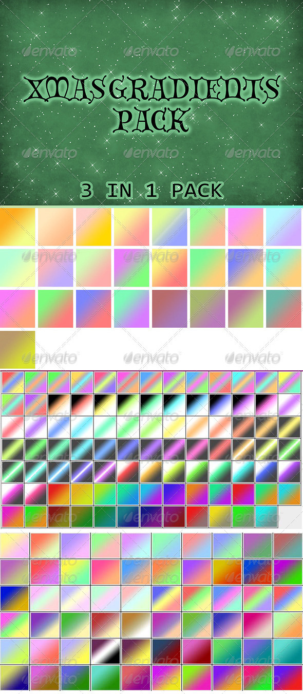 GraphicRiver Gradients Pack 6400447