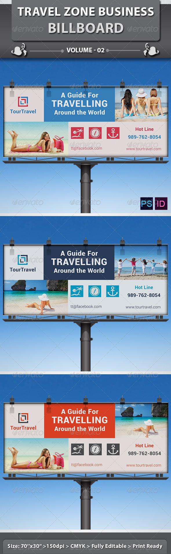 GraphicRiver Travel Zone Business Billboard v2 6415830