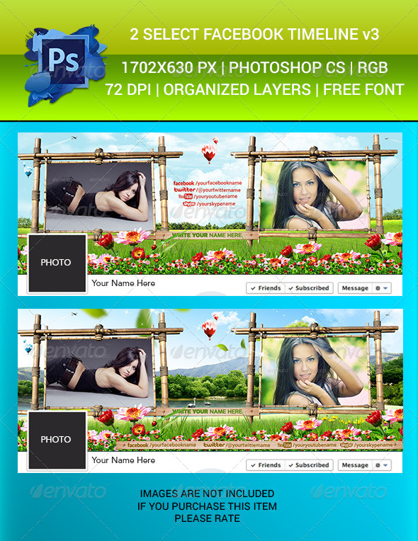 GraphicRiver Facebook Timeline Cover v3 6415865