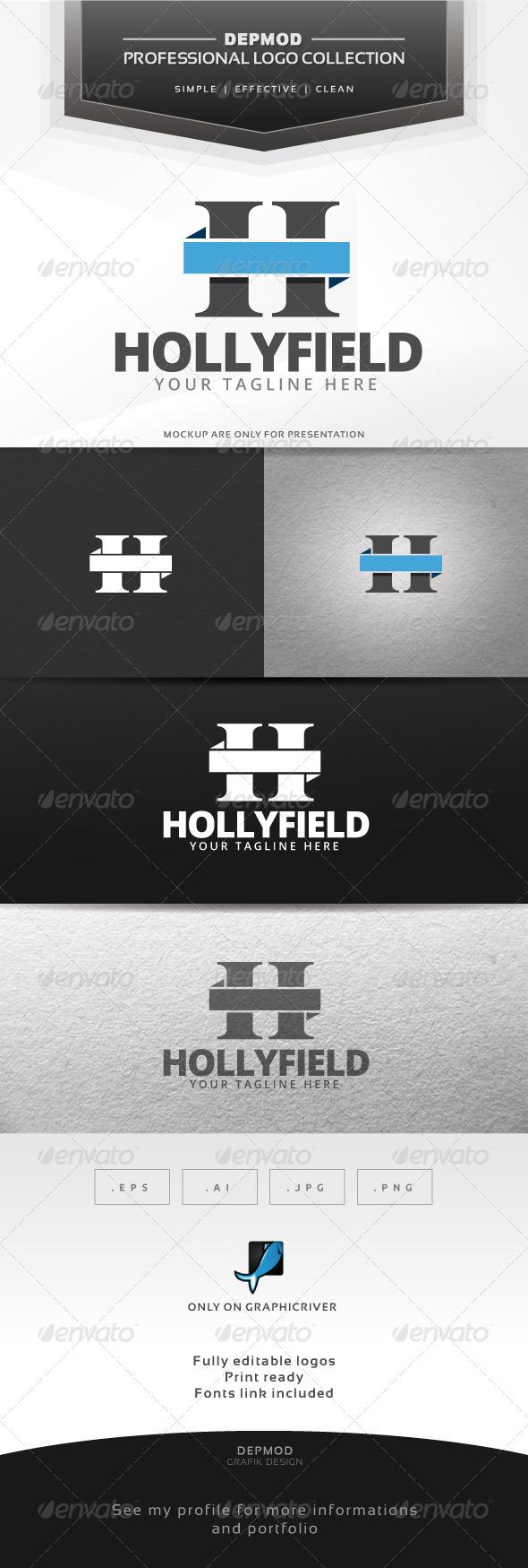 GraphicRiver Hollyfield Logo 6415893
