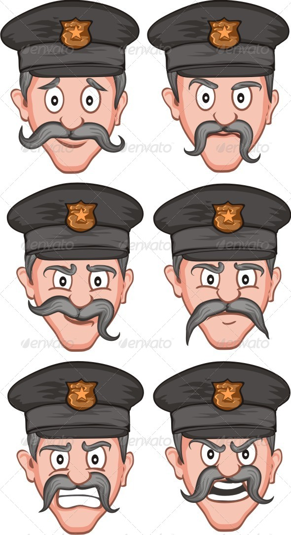 GraphicRiver Police Expression 6415916