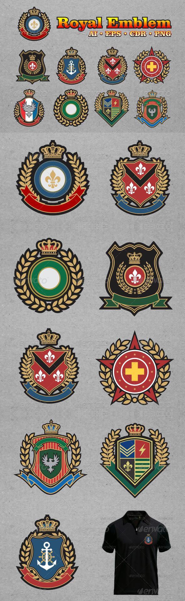 GraphicRiver Royal Emblem 6416040