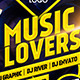 Music Lovers Flyer - GraphicRiver Item for Sale