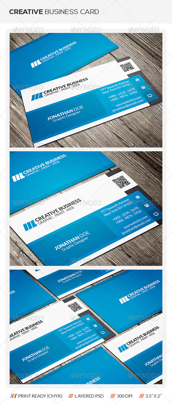 GraphicRiver Modern Corporate Business Card 6416054