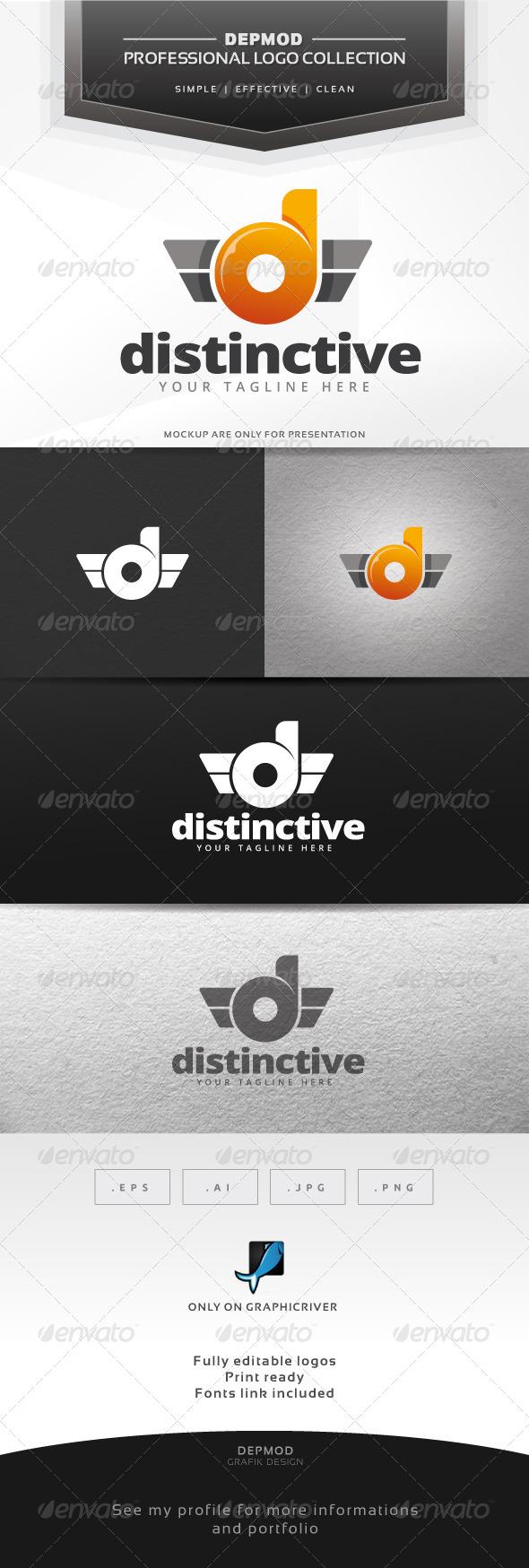 GraphicRiver Distinctive Logo 6416153