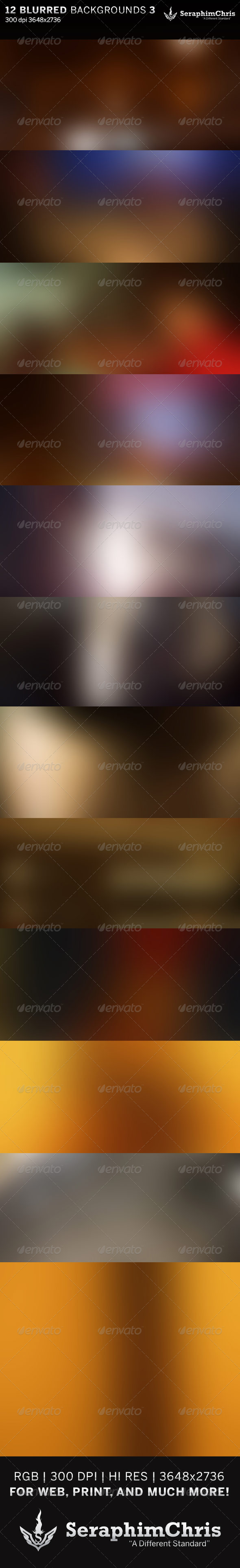 GraphicRiver 12 Abstract Blurred HD Backgrounds Set 3 6416582