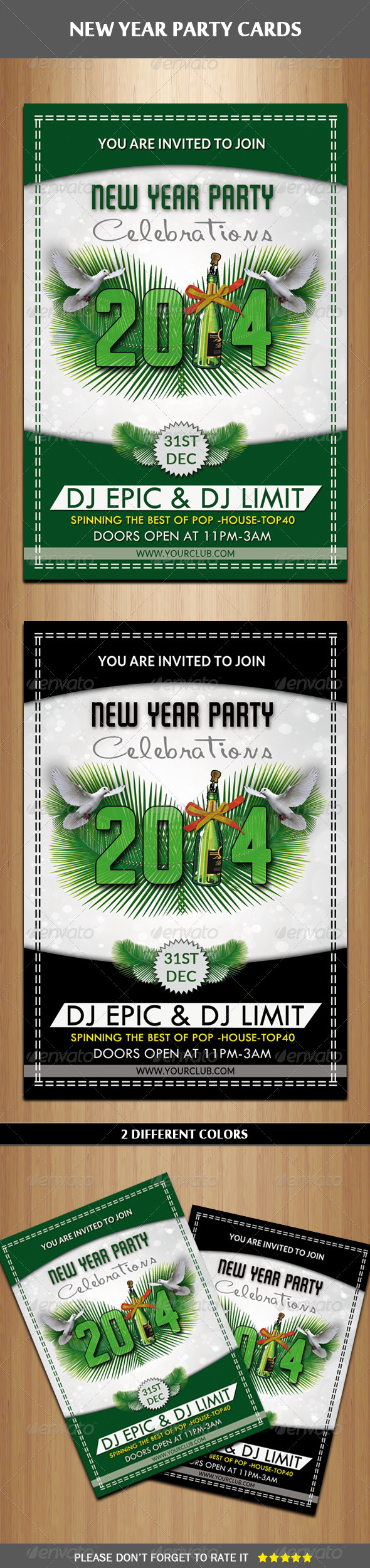 GraphicRiver New Year Party Flyer 6378918