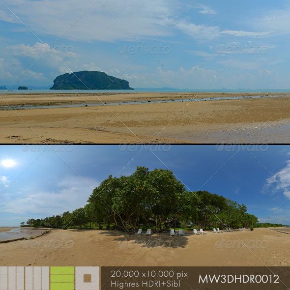 3DOcean MW3DHDR0012 Ko Yao Island Beach Thailand 6405336