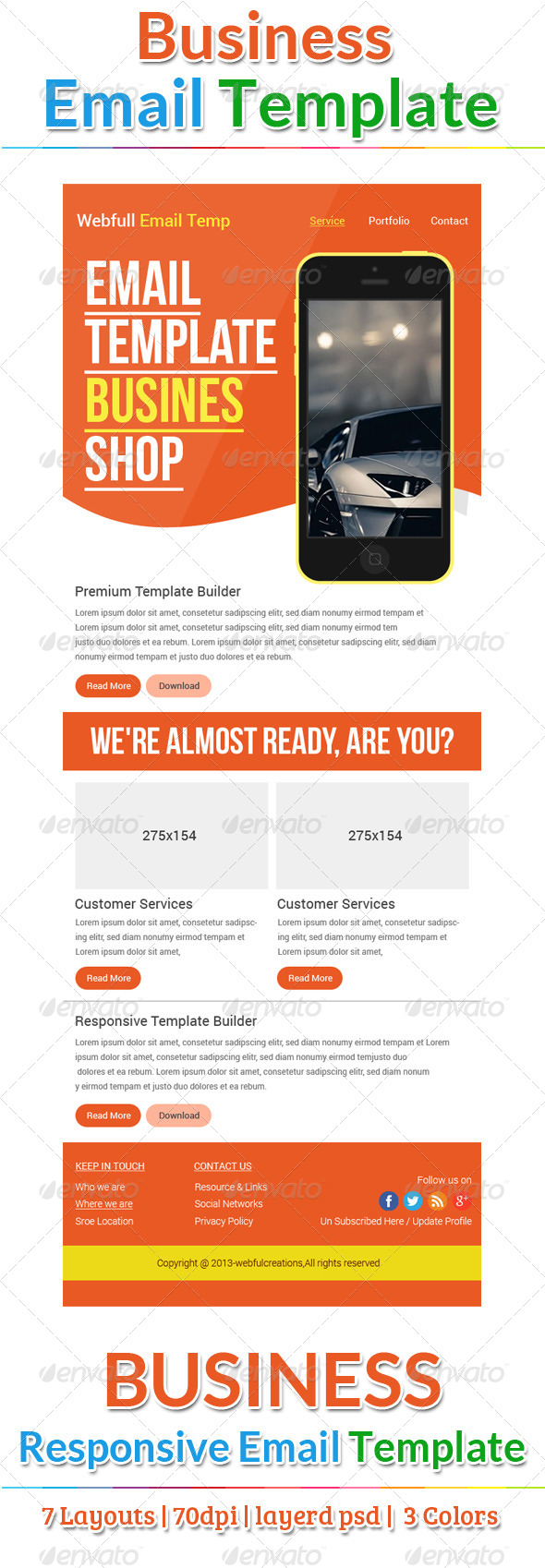 GraphicRiver Business Email Template 6416985