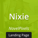 Nixie - Responsive Landing Page - ThemeForest Item for Sale