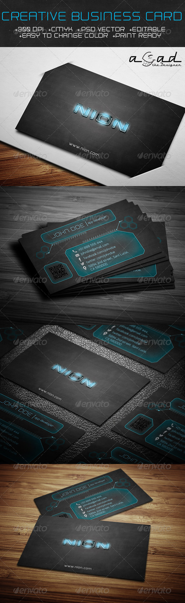 GraphicRiver Creative Business Card 6417888