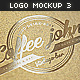 Logo Mock-Up Set - 3 - GraphicRiver Item for Sale
