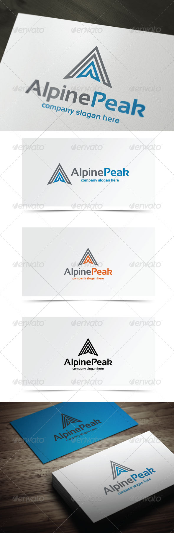 GraphicRiver Alpine Peak 6418180