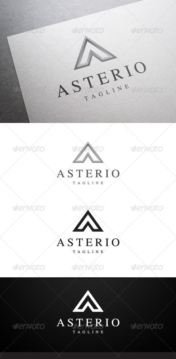 GraphicRiver Asterio A Letter Logo 6418205