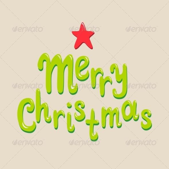GraphicRiver Christmas Card Concept 6418592