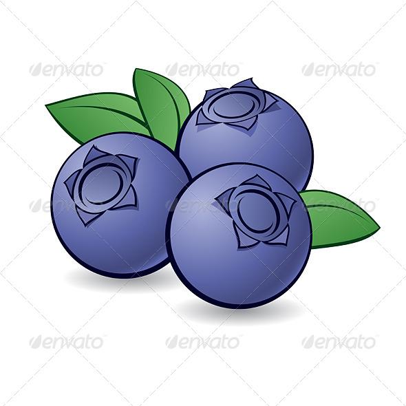GraphicRiver Cartoon Blueberry 6418746