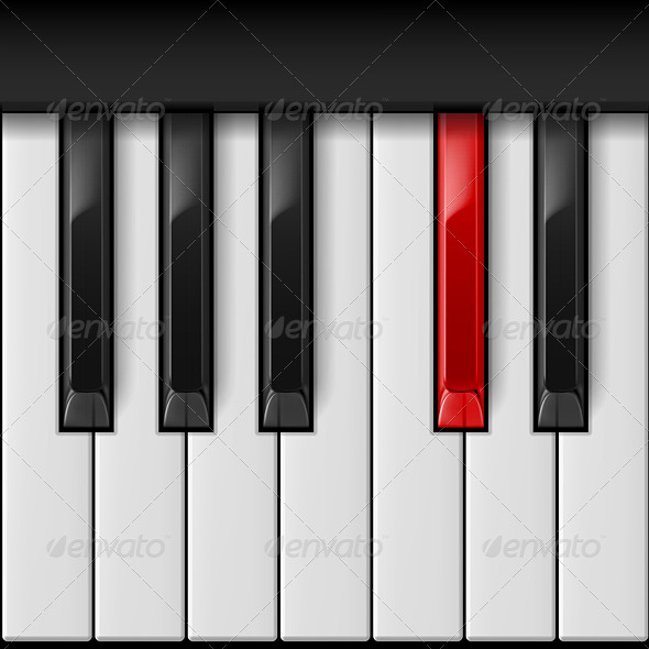 GraphicRiver Piano Keys 6418760