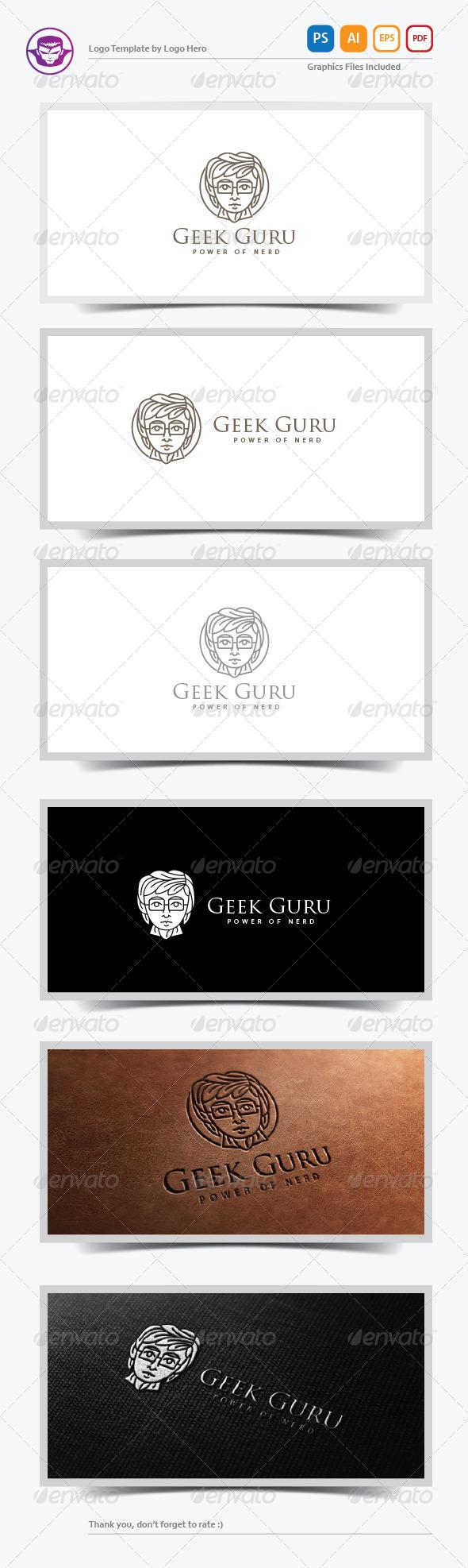 GraphicRiver Geek Guru Logo Template 6418769