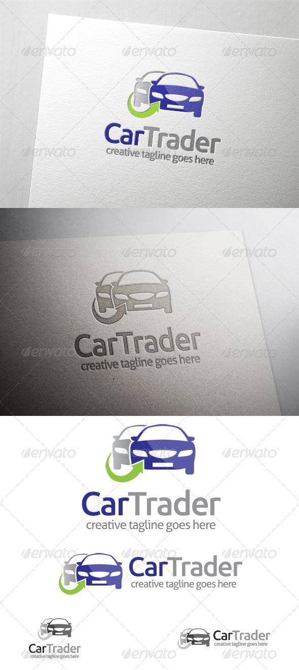 GraphicRiver Car Trader Logo 6418960
