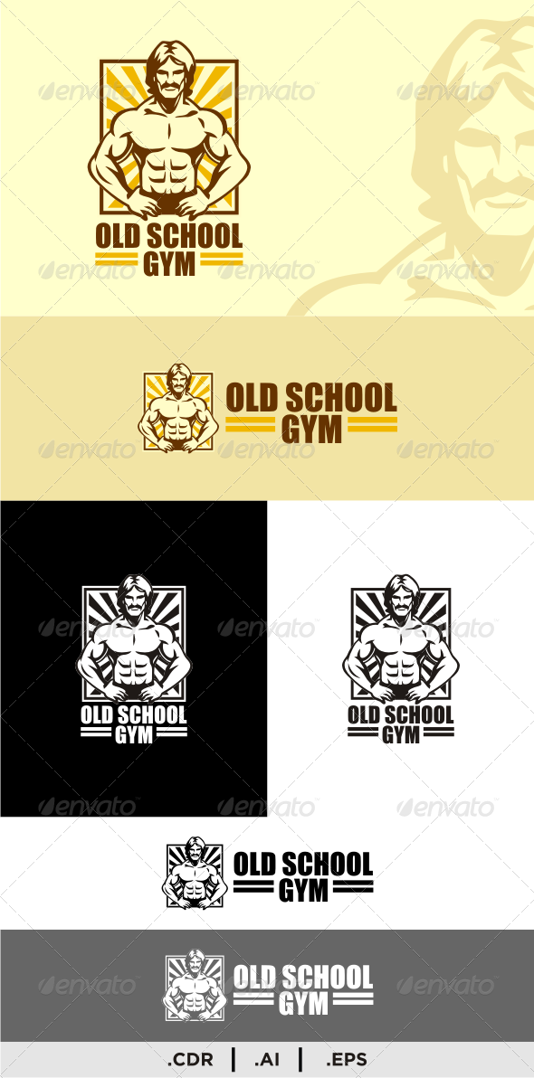 GraphicRiver Old School Gym 6382888