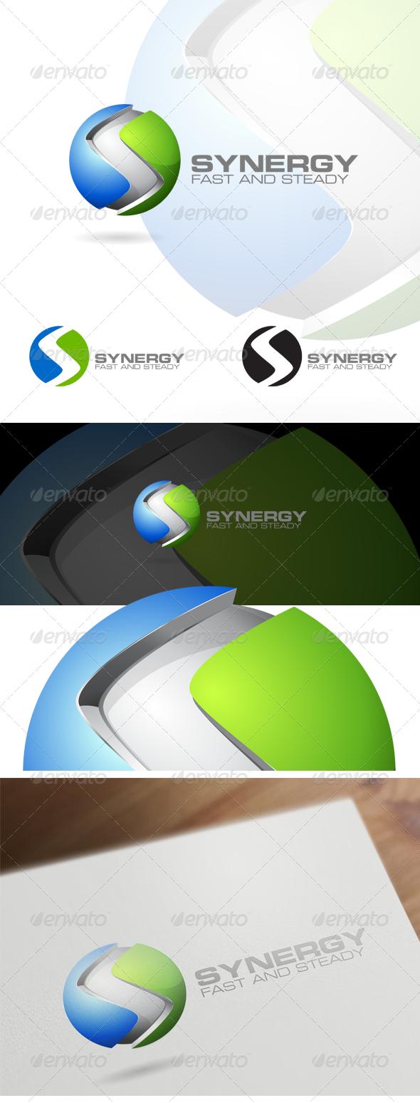 GraphicRiver 3D S Letter Corporate Logo Design 6419064