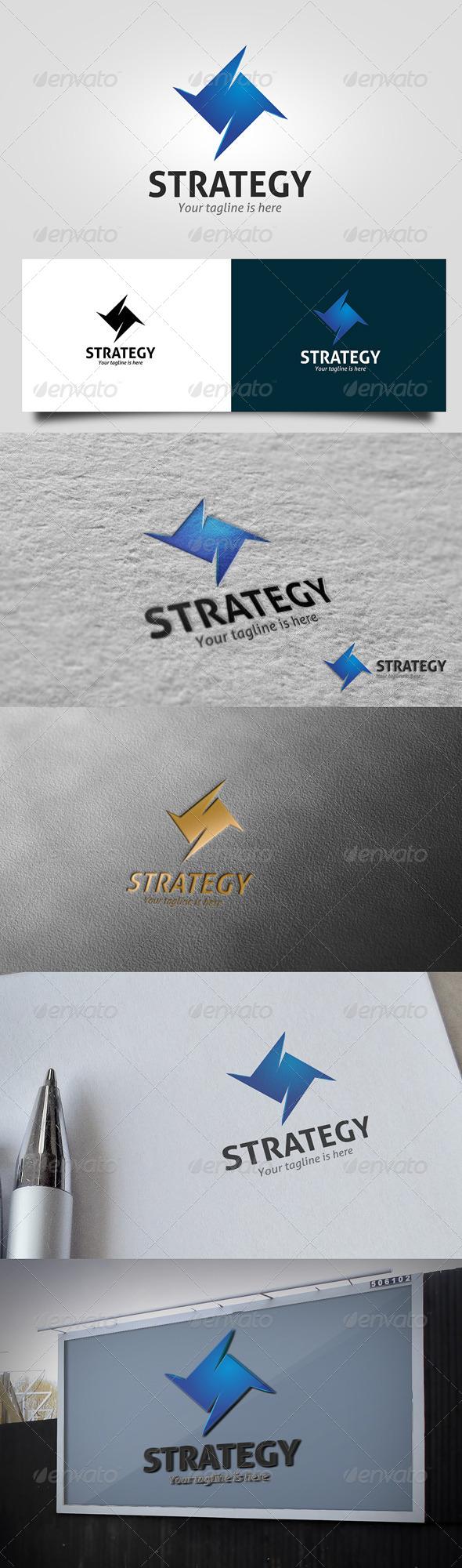 GraphicRiver Strategy Logo 6419281