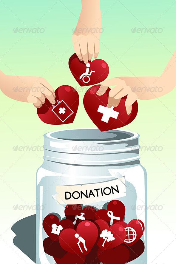GraphicRiver Making Donation 6419426