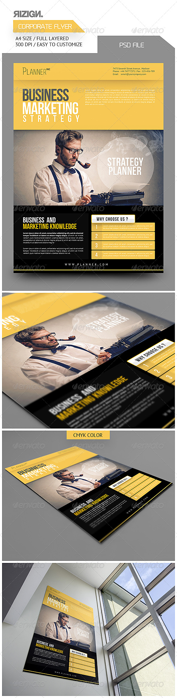 GraphicRiver Corporate Flyer 6419427