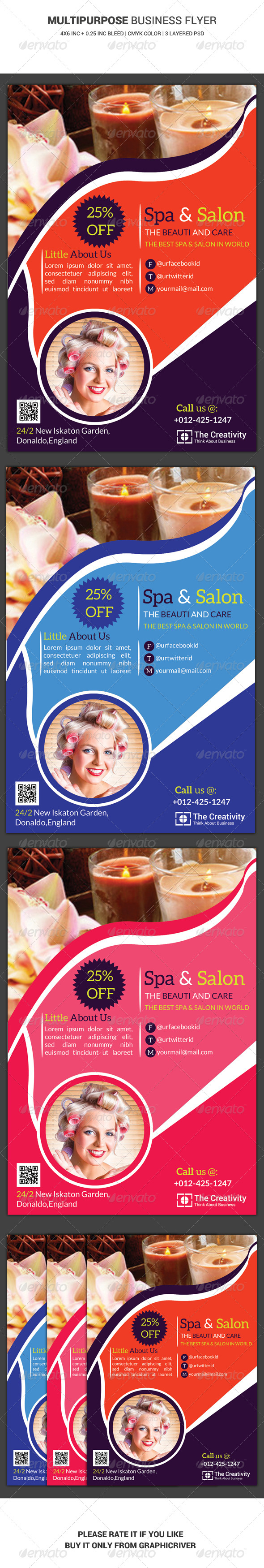 GraphicRiver Business Flyer Template 23 6419431
