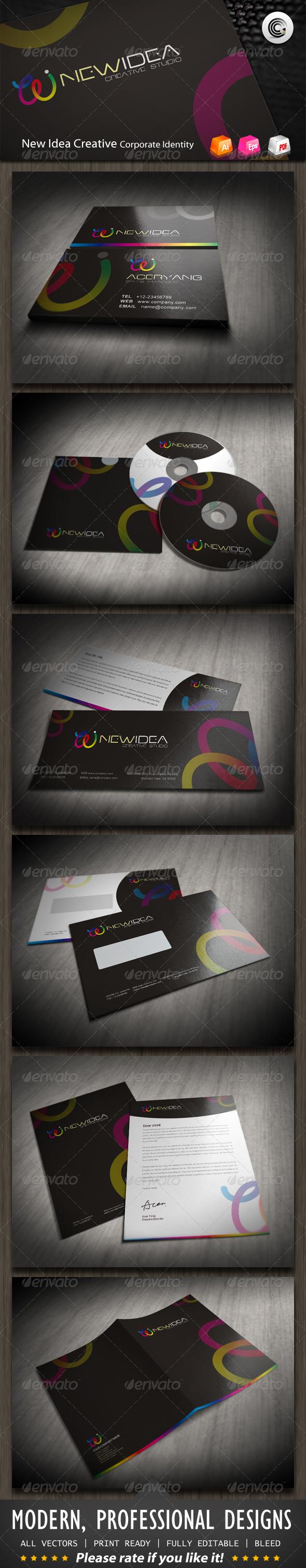 New Idea Creative Studio Corporate Identity