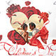 Valentine's Day Package Flyers - GraphicRiver Item for Sale