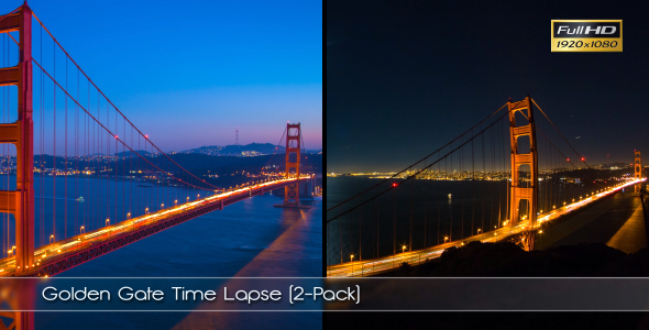 Golden Gate Time Lapse 2-Pack