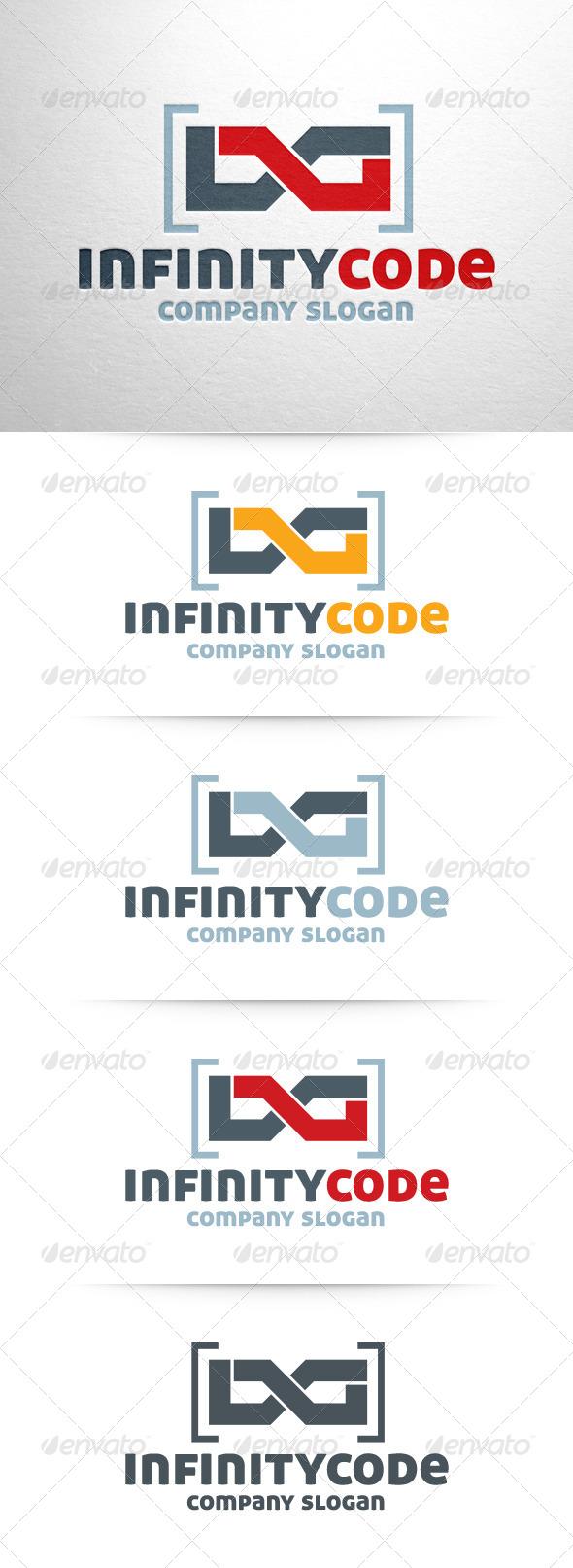 GraphicRiver Infinity Code Logo 6420870