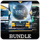 Vibes Night - Flyers Bundle [Vol.2] - GraphicRiver Item for Sale