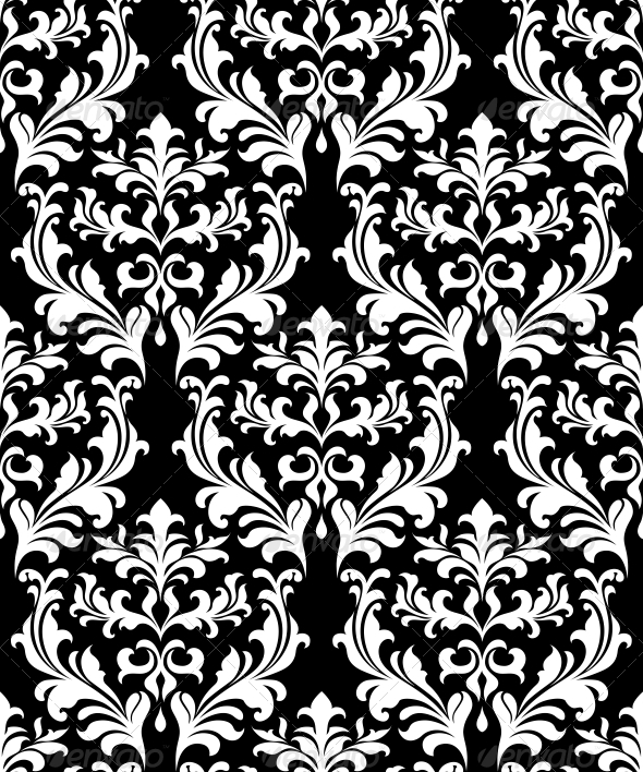 GraphicRiver Damask Seamless Pattern Background 6420930