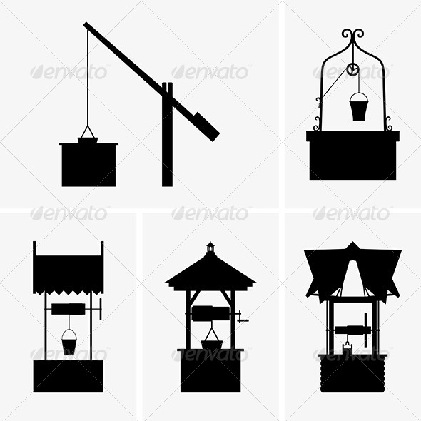 GraphicRiver Water Wells 6421141