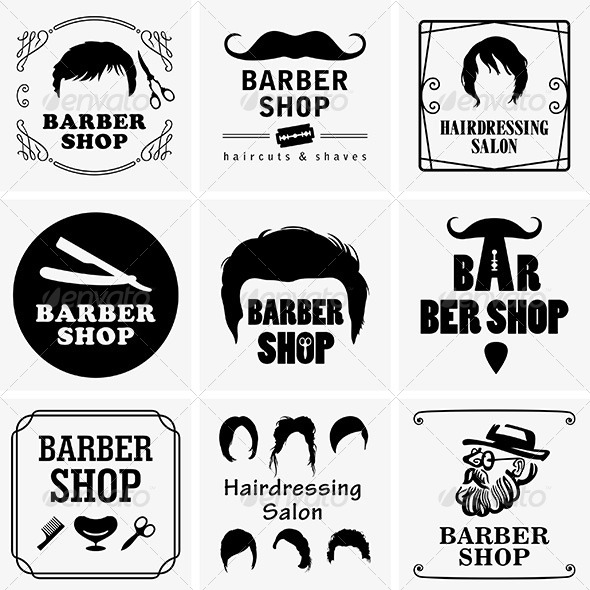GraphicRiver Barbershop Graphics 6421181