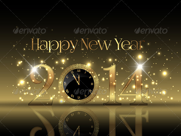 GraphicRiver Happy New Year Background 6421441